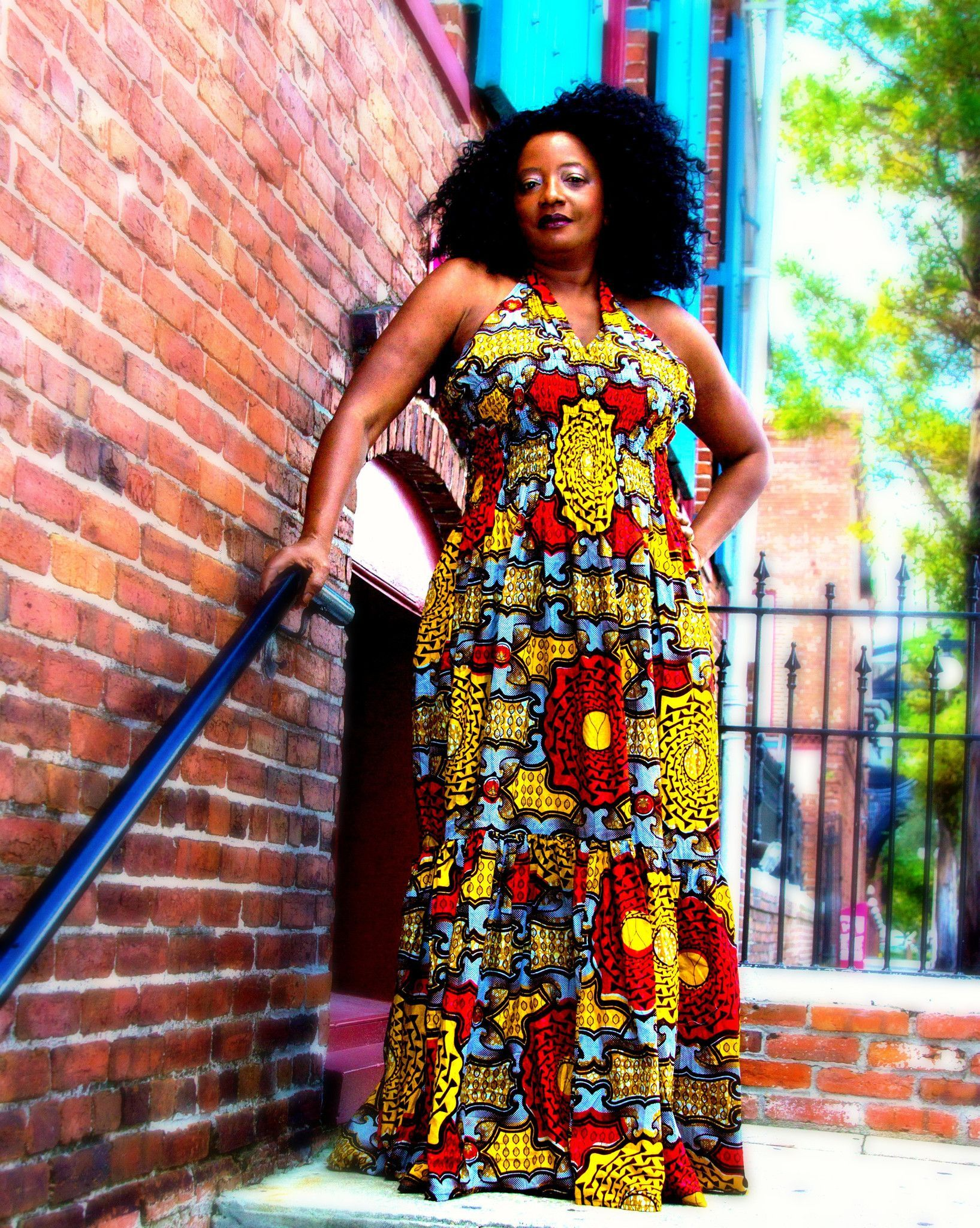 Sayma african print maxi dress africans maxi dresses and african