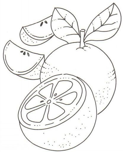A Slice Of Fresh Watermelon Coloring Page Paginas Para Colorear