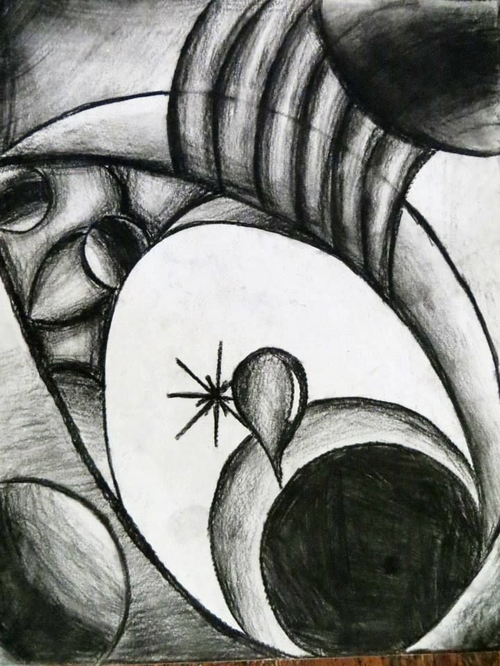 Dark abstract art with charcoal | Art | Pinterest | Abstract art ...