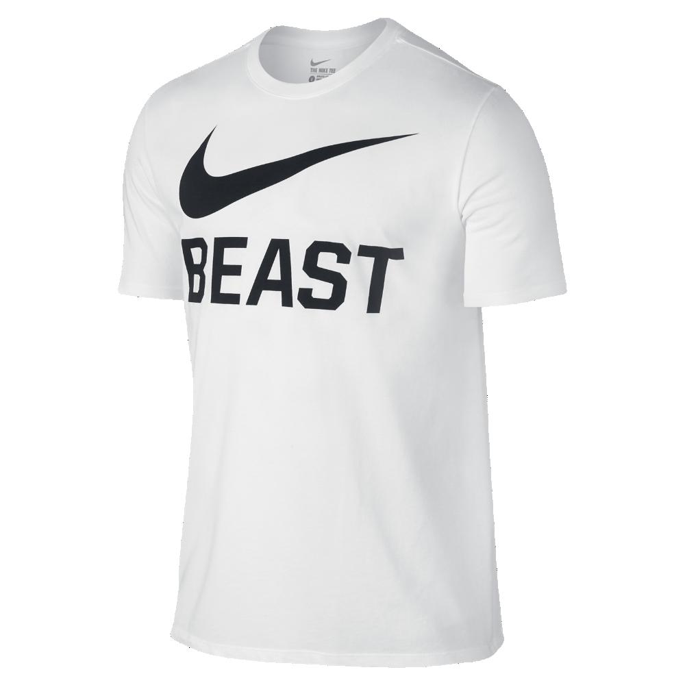 Nike Swoosh Beast Men's TShirt Size 2XL (White