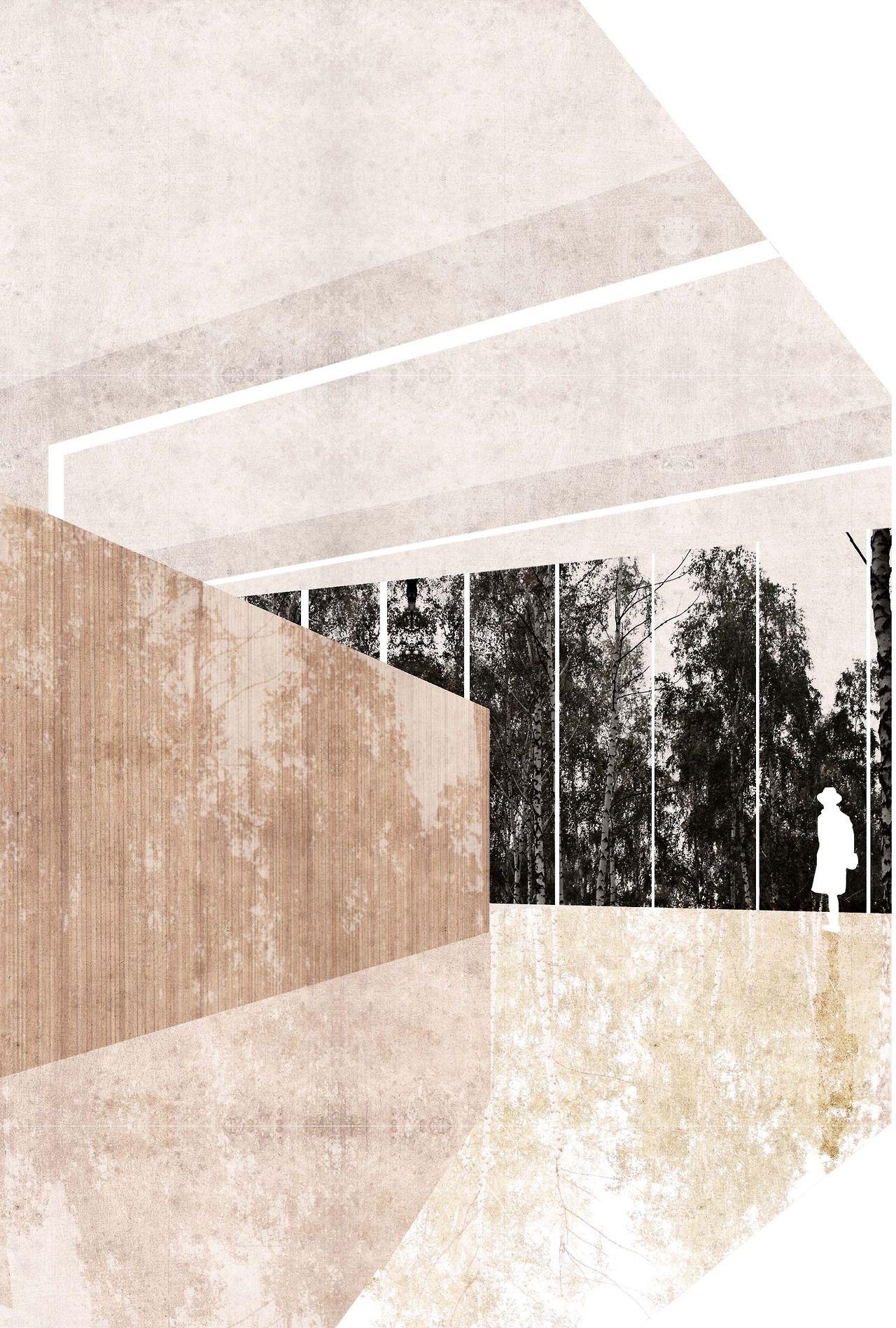 Uncommon Cut Wasser ArchitekturHochhausLinieInnenarchitekturSkizzenAnsicht Architektur
