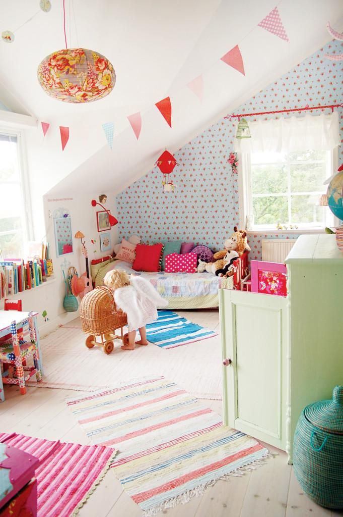 Inspiración vintage para los cuartos infantiles | Decorar tu casa ...