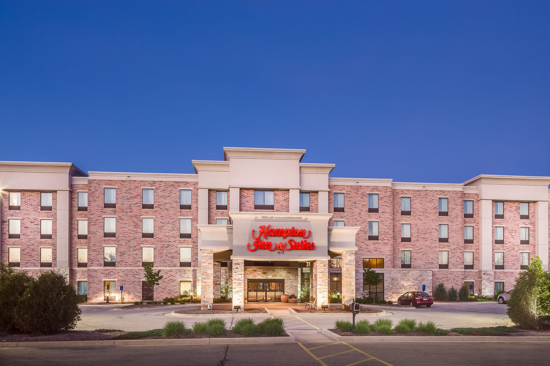 Hampton Inn And Suites West Bend Wisconsin Located Conveniently