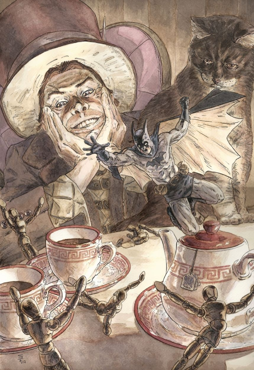 Batman Vs The Mad Hatter By Seth Frail Comic Art I Am