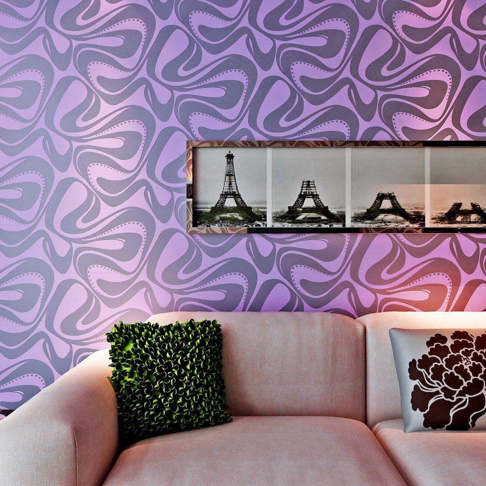 hanmero modern kunst fototapete 3d effekt zapete streifen. Black Bedroom Furniture Sets. Home Design Ideas