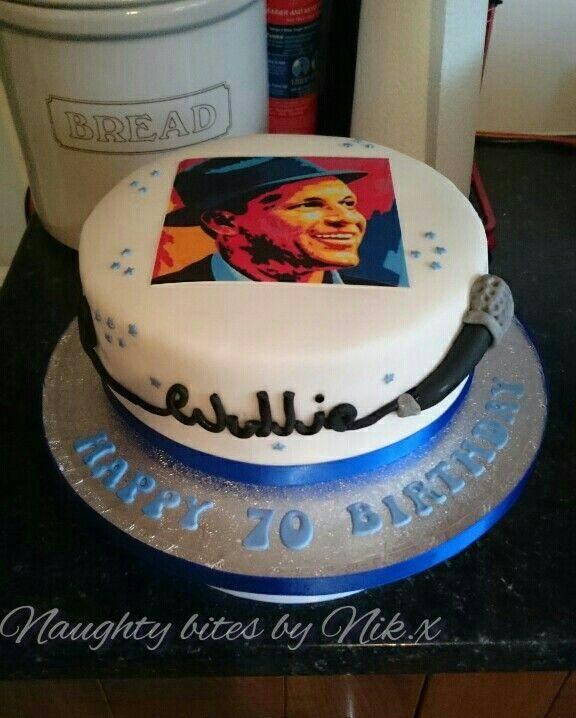 Frank Sinatra Cake Cheekaboo Cakes Pinterest Cake