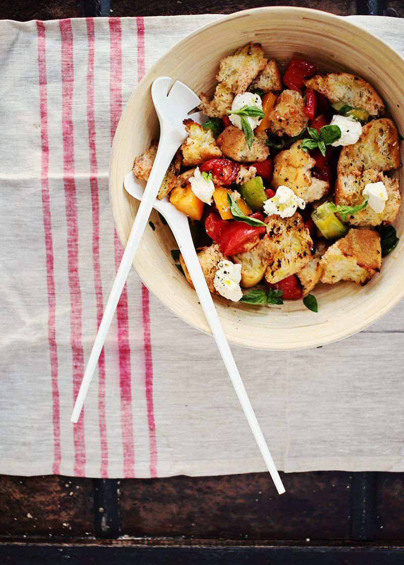 Use it to make a summery bread salad.
