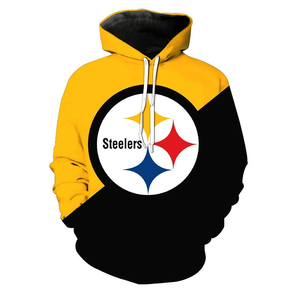 in stock 7f601 1f24c Mens Women Hoodies Pittsburgh Steelers Fan Warm Sweatshirt ...