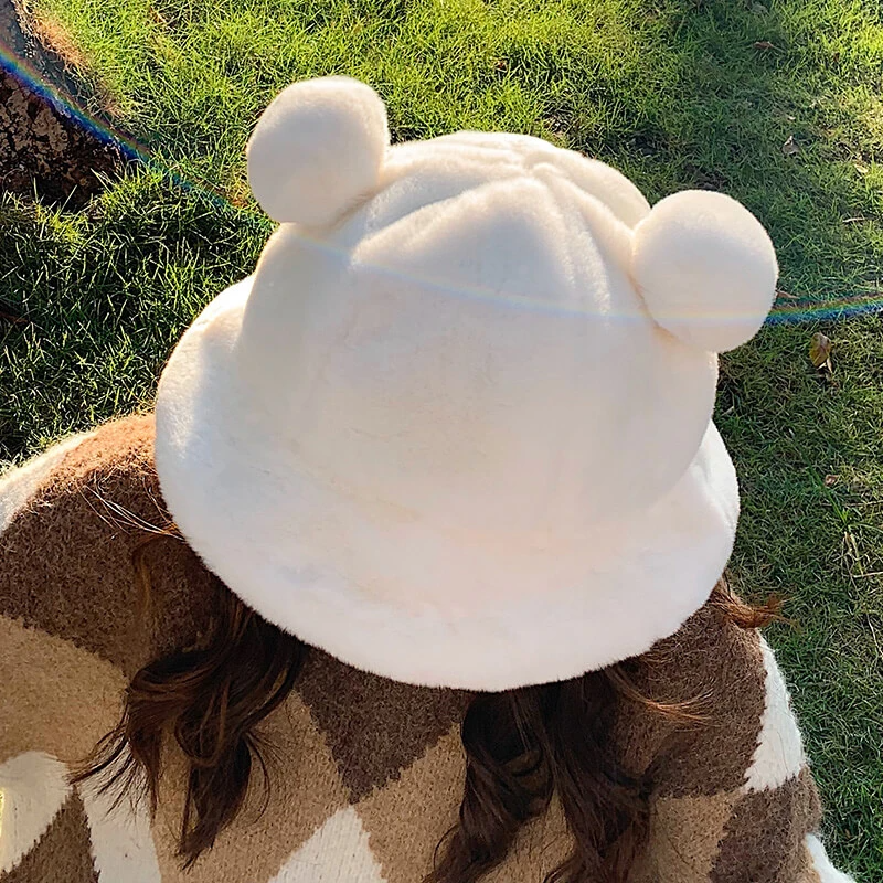 Kawaii Plush Bear Ear Hat SE21208