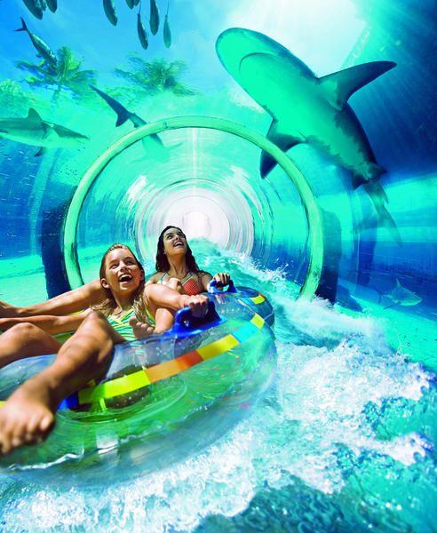 Vauhdikasta menoa Aquaventure-vesipuistossa Atlantis The Palm -hotellin yhteydessä. #Dubai #Aquaventure  http://www.finnmatkat.fi/Lomakohde/Arabiemiraatit/?season=talvi-13-14