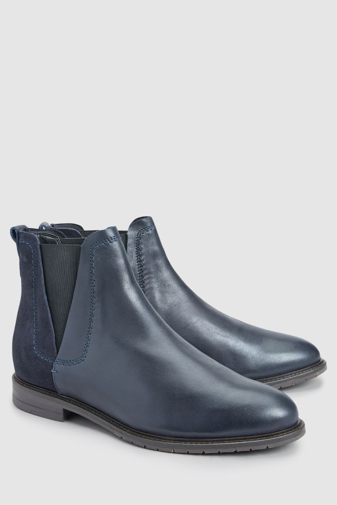 eea1419aea6ab Womens Next Navy Forever Comfort Chelsea Boots - Blue in 2019 ...