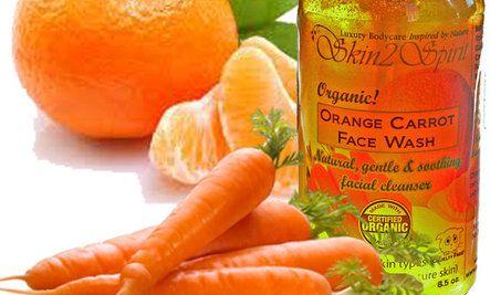 Natural facial cleansing