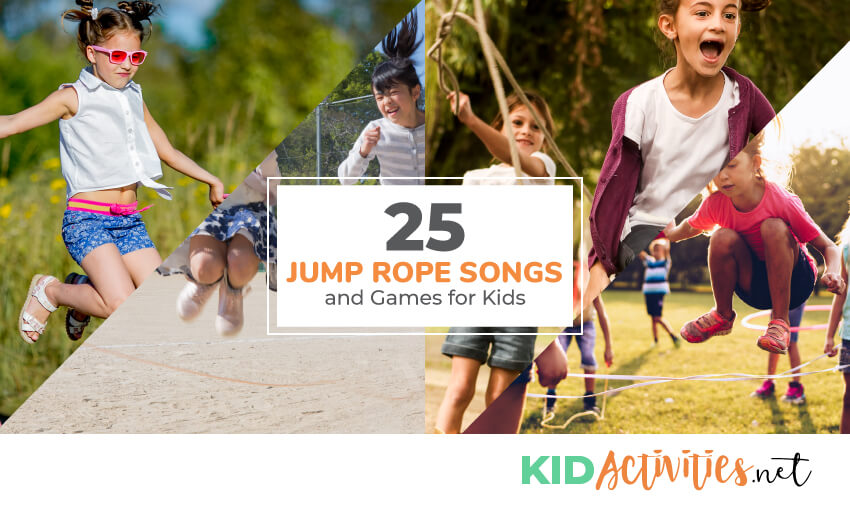 25 Fun Jump Rope Songs and Games for Kids [Best Jump Rope