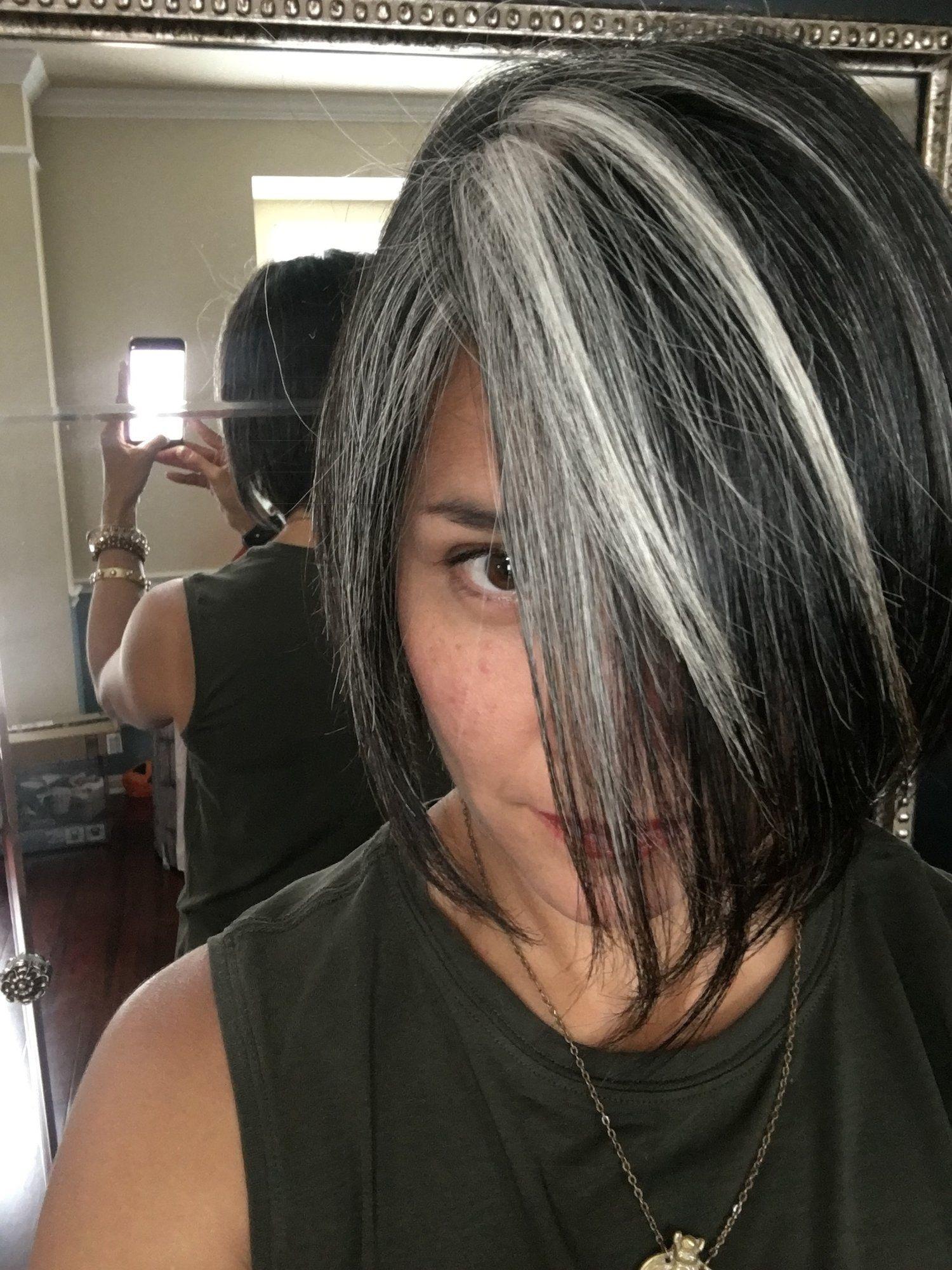 Gray Hair Don T Care Salt And Pepper Gray Hair Grey Hair Silver Hair White Hair Don T Care Blending Gray Hair Gray Hair Growing Out Gray Hair Highlights