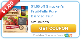 Tri Cities On A Dime: $1.00 COUPON ON SMUCKER'S FRUIT-FULLS PURE BLENDED...