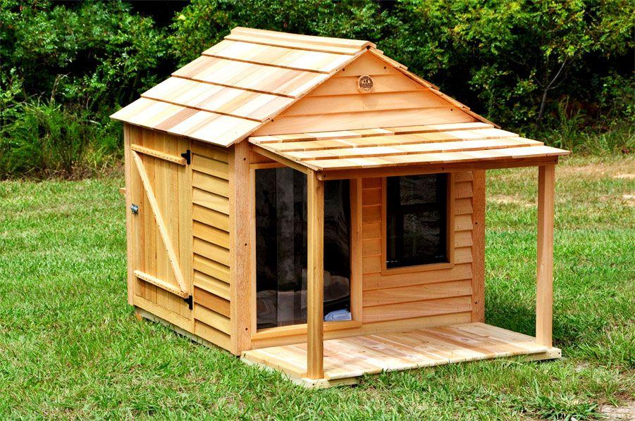 Large Dog House Custom Cedar Dog House Large Dog House Dog House Plans Insulated Dog House