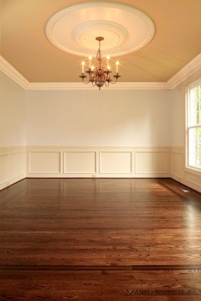 Picture Of Dura Seal Coffee Brown Finish On Red Oak And Two Component Waterborne This Is In The Dining Room Floor Was A Walnut Border