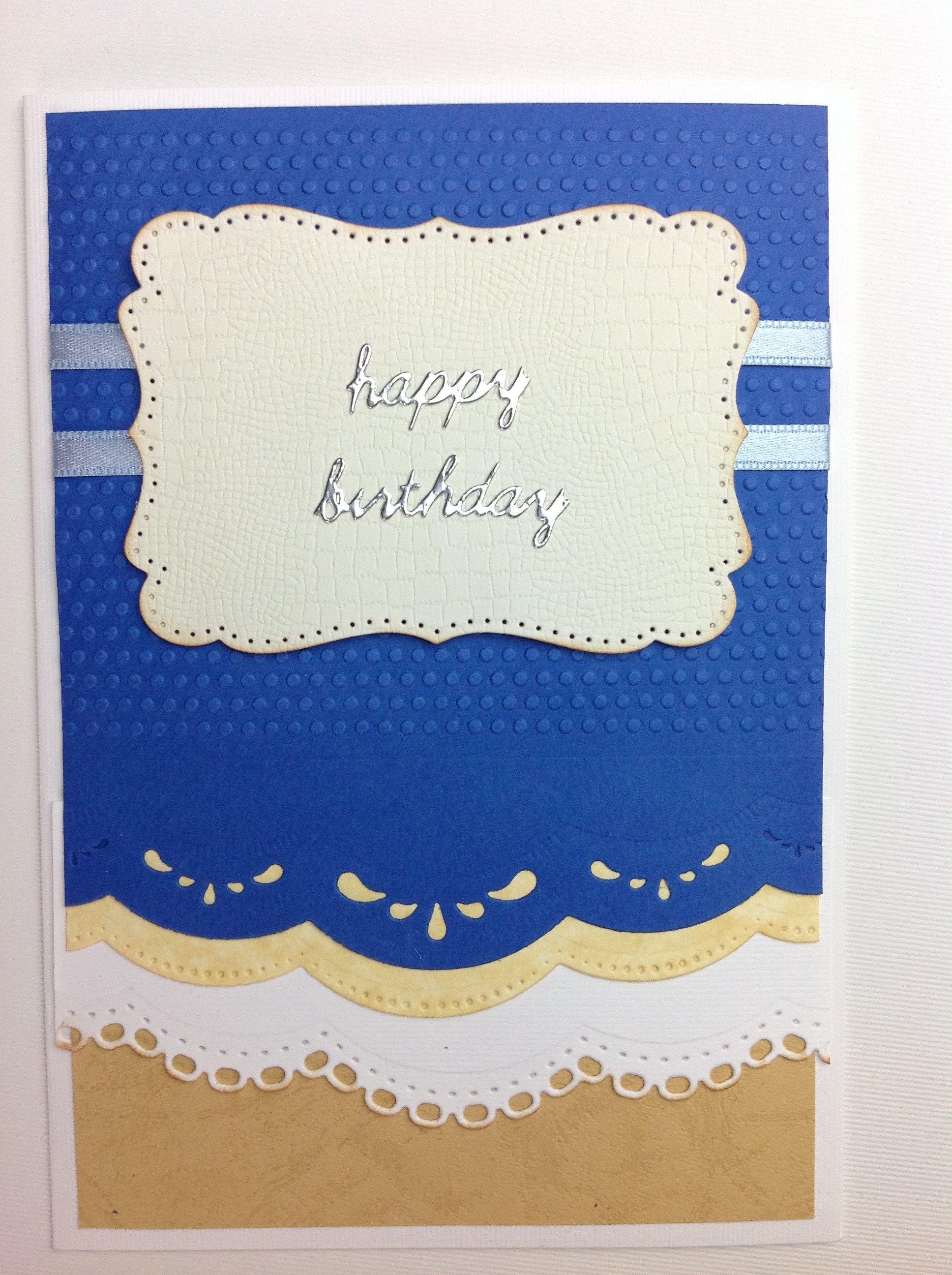 tarjeta scrapbook cumpleaños hombre (3) | Mis tarjetas de cumpleaños ...