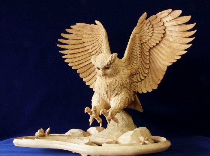 inami-carving5 | Художественные скульптуры ...