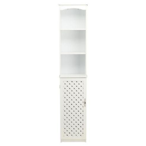 Buy Sheringham Bathroom Storage Tall Boy  White Wood from our Bathroom  Standing Cabinets   Storage range at Tesco direct  We stock a great range  of products. Sheringham Bathroom Storage Tall Boy  White Wood   Boys  White