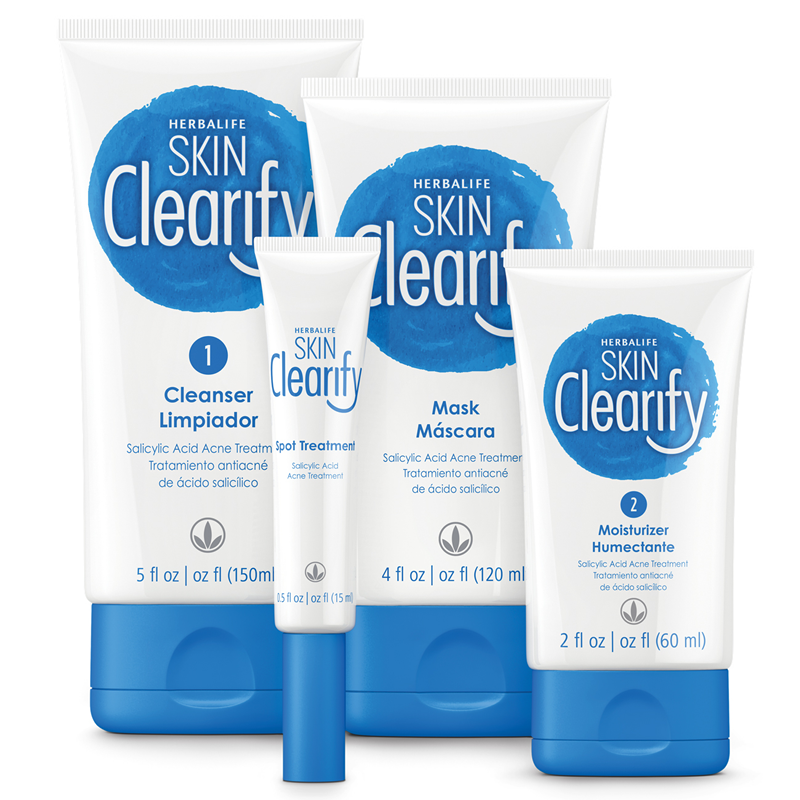 Herbalife Skin Clearify Acne Kit Acne Kits Herbalife Anti Acne Skin Care