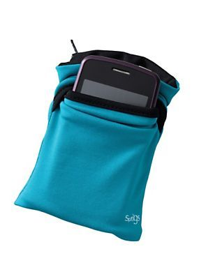 """Phone Wrist Wallet - Stretchy Zippered Pouch 5""""x2.5""""x.5"""" 