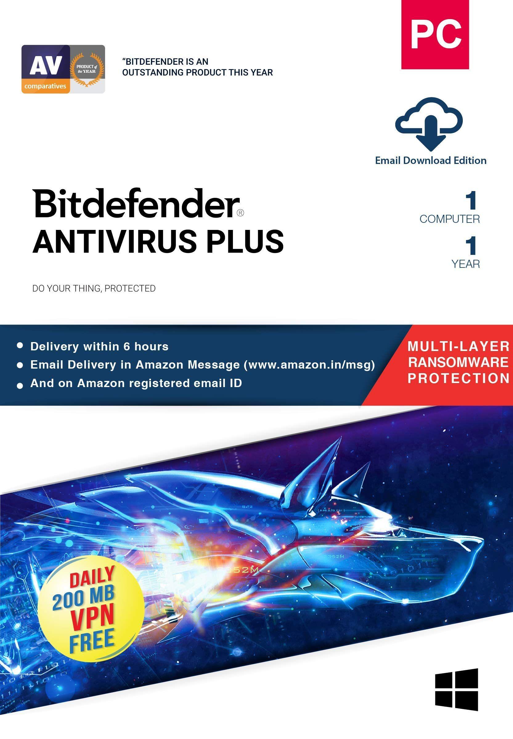 BitDefender Antivirus Plus Latest Version (Windows