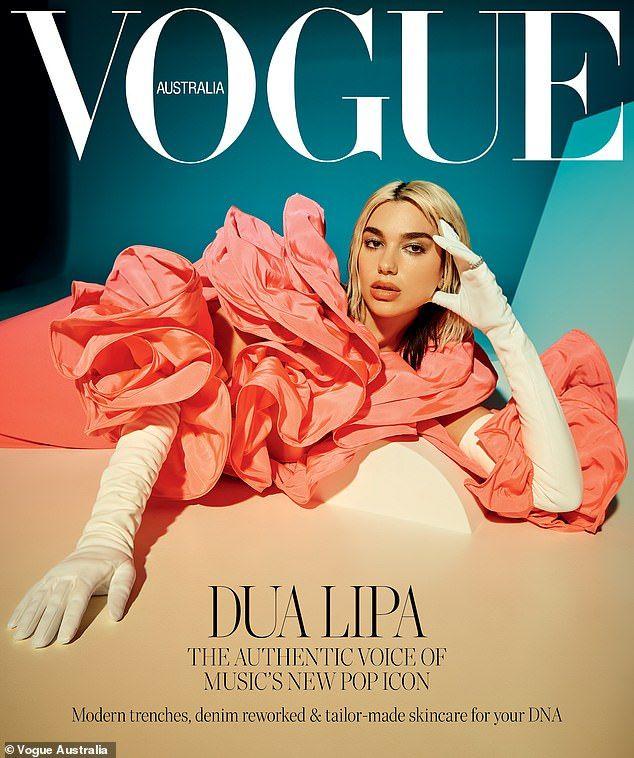 Dua Lipa on unity between women for Vogue Australia