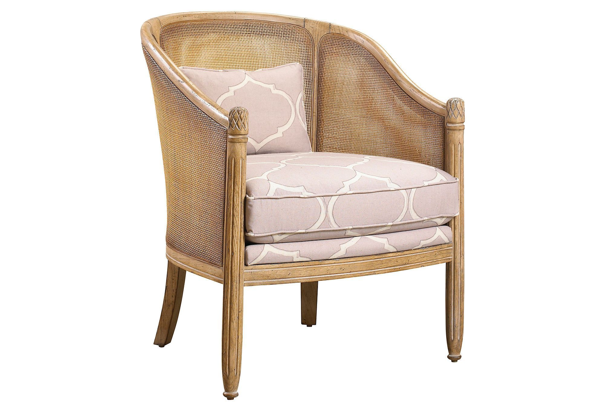 Genevieve Accent Chair | One Kings Lane