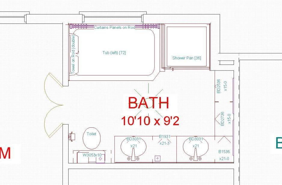 Master Bathroom Floor Plans 10x10. 10+ Free Bathroom Floor ...