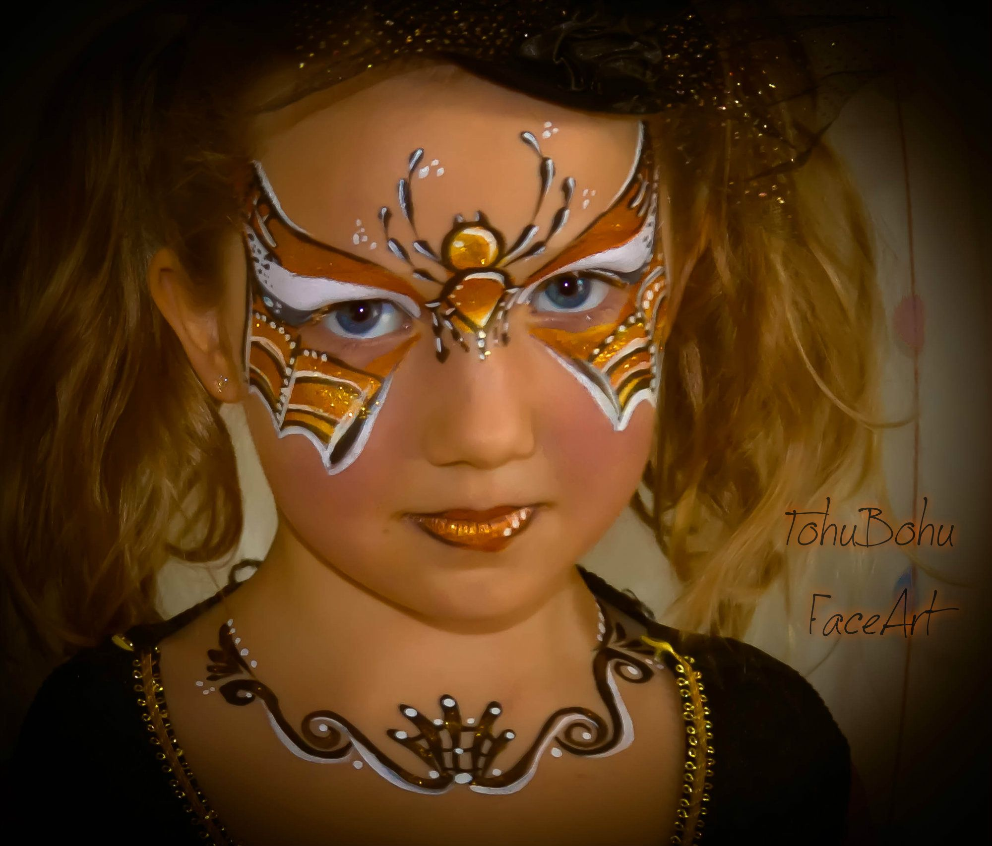 Sorci re d 39 halloween make up for halloween maquillage enfants masque pinterest face - Maquillage simple enfant ...
