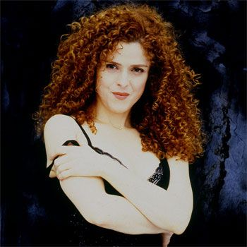 American Red Headed Stage And Screen Actress Singer And Children S Book Author Bernadette Peters Berna Curly Hair Styles Naturally Curly Hair Styles Hair Icon