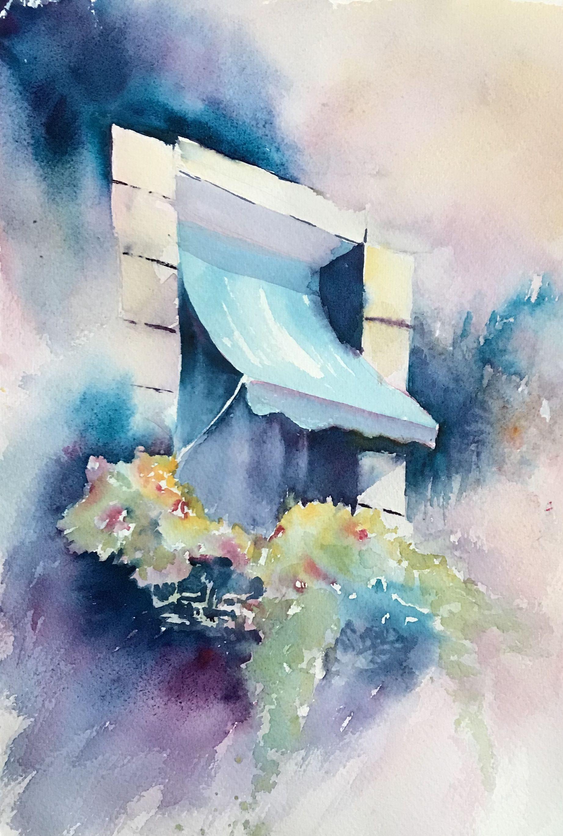 Onlinekurs Abstrakte Landschaften Mit Aquarell Malen An 22
