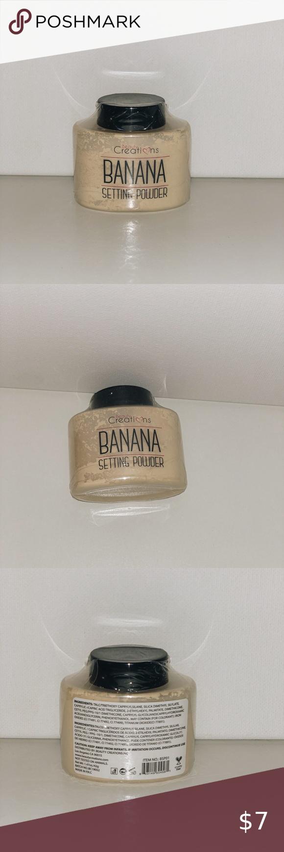 2 for 7 Beauty Creations Banana Powder in 2020 Beauty