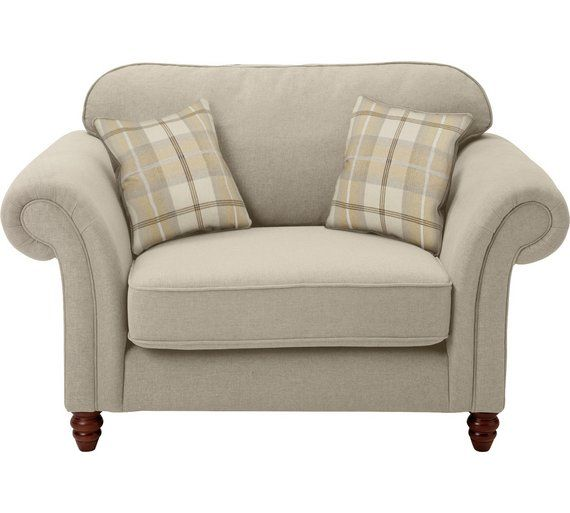 Buy Heart Of House Windsor 2 Seater Cuddle Chair Mink Blue At