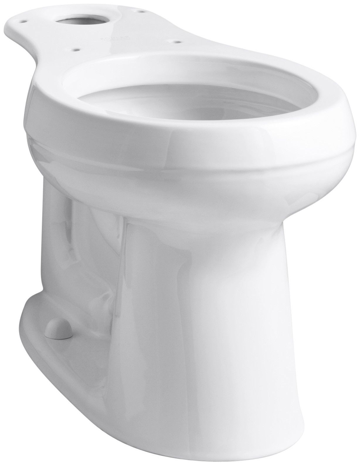 Cimarron Comfort Height Round Front Bowl With 10 Rough In Products Kohler Cimarron Toilet Bowl Chair Height