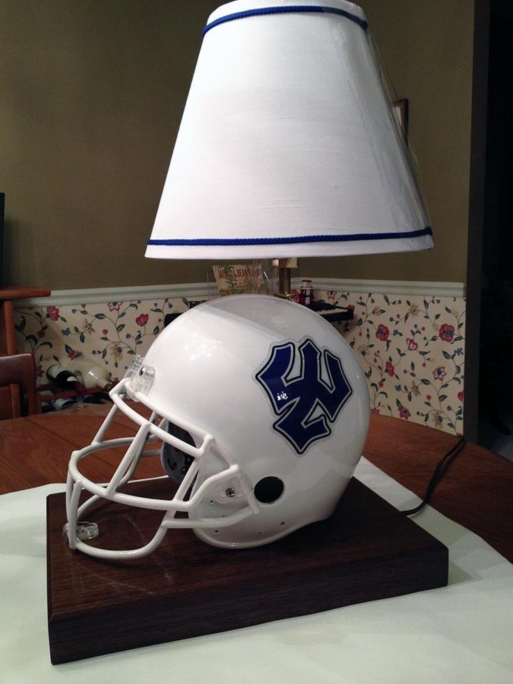 6 american football themed lamps in honor of super bowl washington 6 american football themed lamps in honor of super bowl washington lee university lamp aloadofball Images