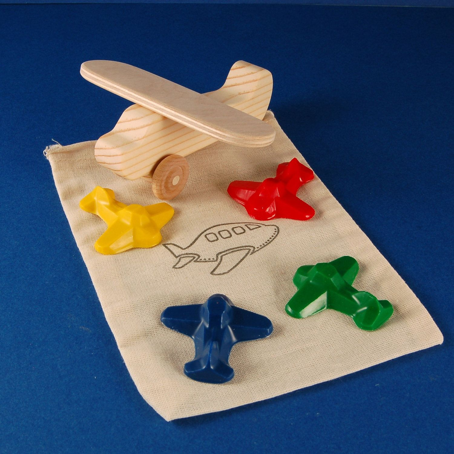 Airplane Party Favors Package of 5 Plane Birthday Party Favor Sets