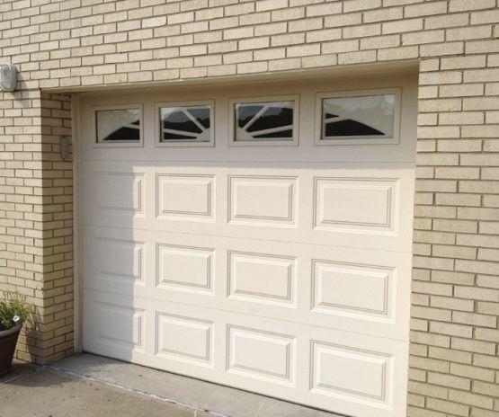 10 Ft Garage Door With Window Insert Home Interiors Garage Door Maintenance Garage Doors Garage Door Styles