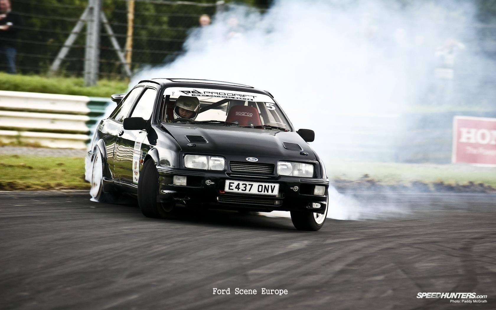 #Ford #Sierra #Cosworth Black edition #Drift style #FordFocusSTClub