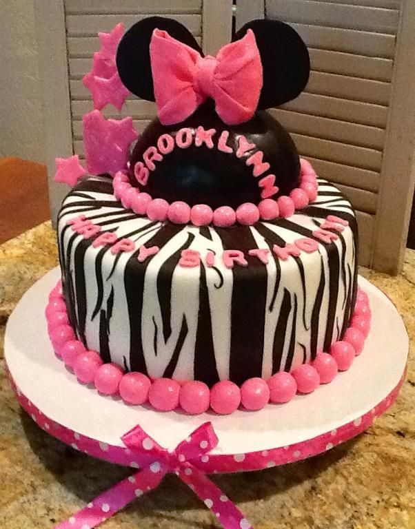 Looking for cake decorating project inspiration Check out Minnie