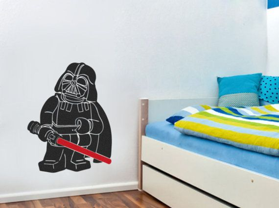 This Is A Lego Star Wars Darth Vader Wall Sticker/decal Available In A Large Part 33