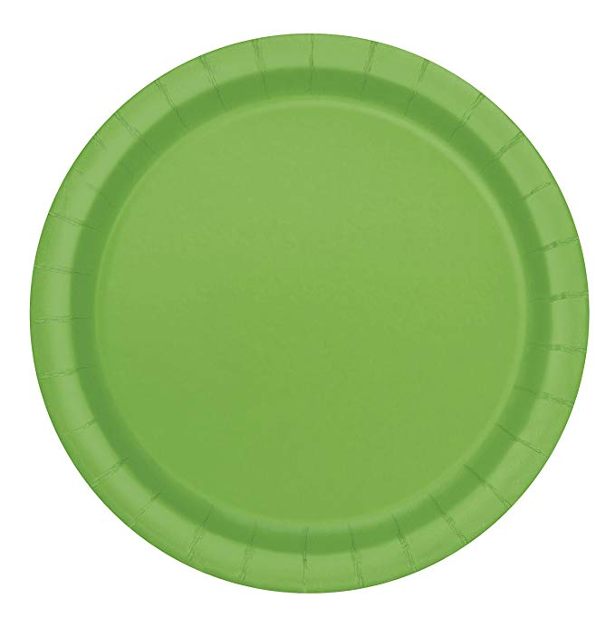 Amazon Com Unique Industries Paper Plates 16 Pieces Navy Blue Kitchen Dining Green Plates Green Desserts Green Dinner Plates