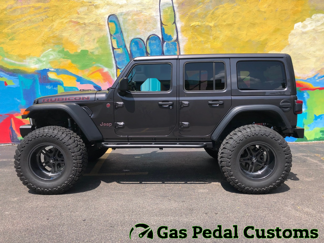 2018 Jeep Jl Rubicon With Custom Painted Fuel Forged Wheels 40