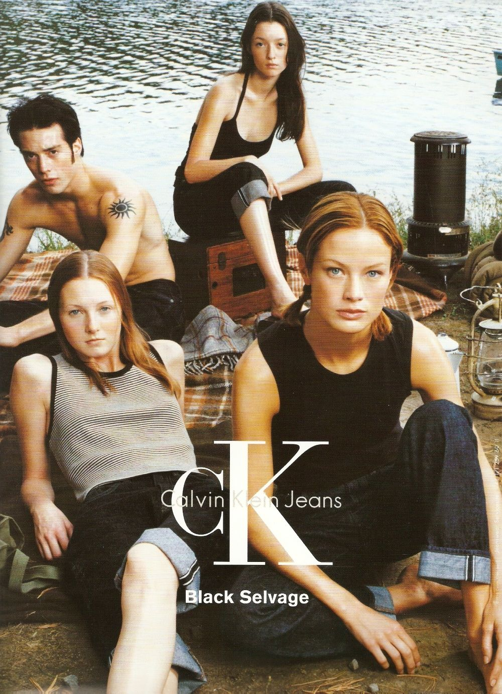 e2efc4d509 Black Selvage, Calvin Klein Jeans, SS98, photographed by Steven Meisel