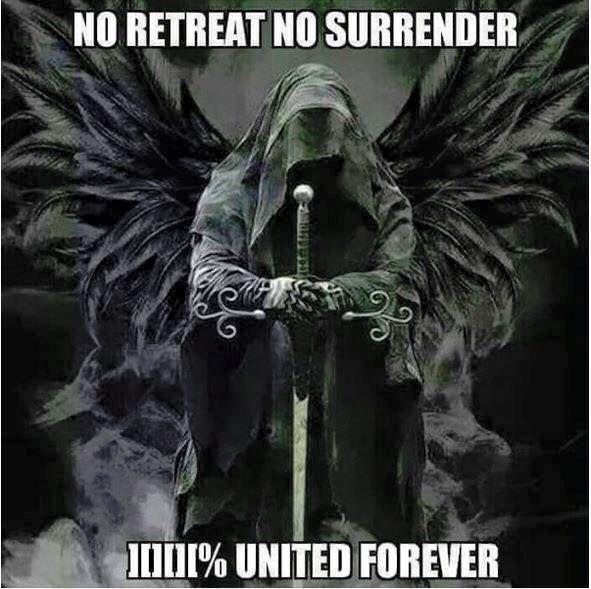 No Retreat Tattoo No Surrender