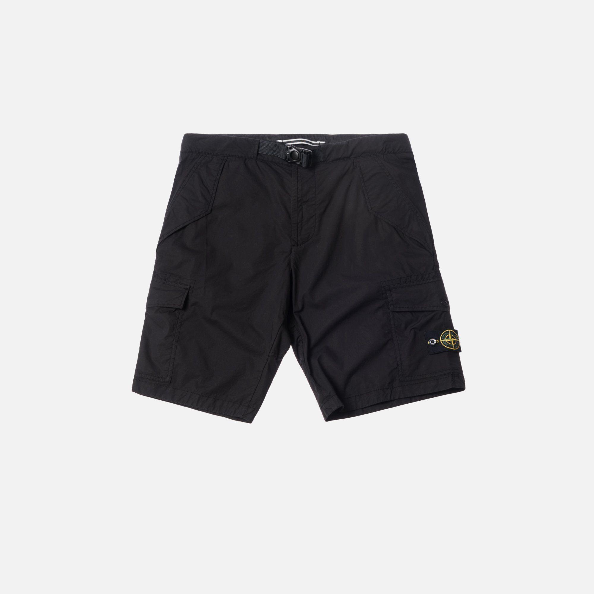 Stone Island Bermuda Shorts Black 28 Kleding Kleding