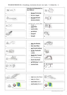 wegbeschreibung egitim german language learning german grammar ve learn german. Black Bedroom Furniture Sets. Home Design Ideas