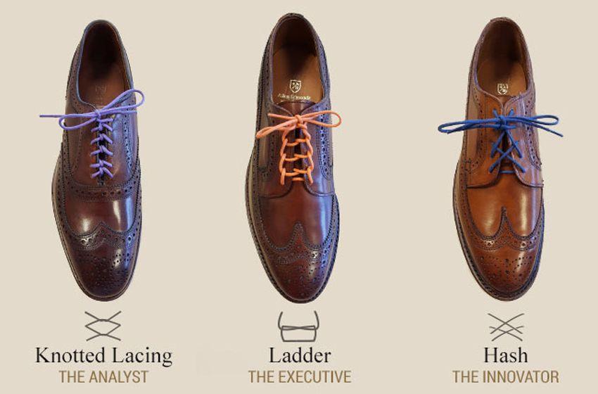 Lace dress shoes