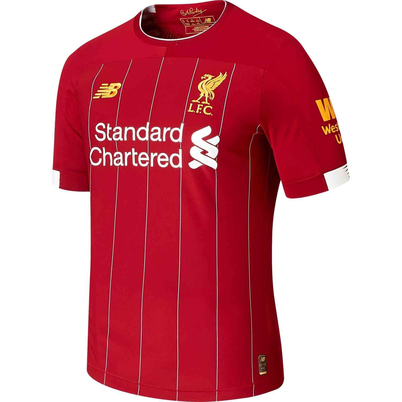 5ab1b43976d 2018 19 New Balance Roberto Firmino Liverpool Home L S Jersey ...